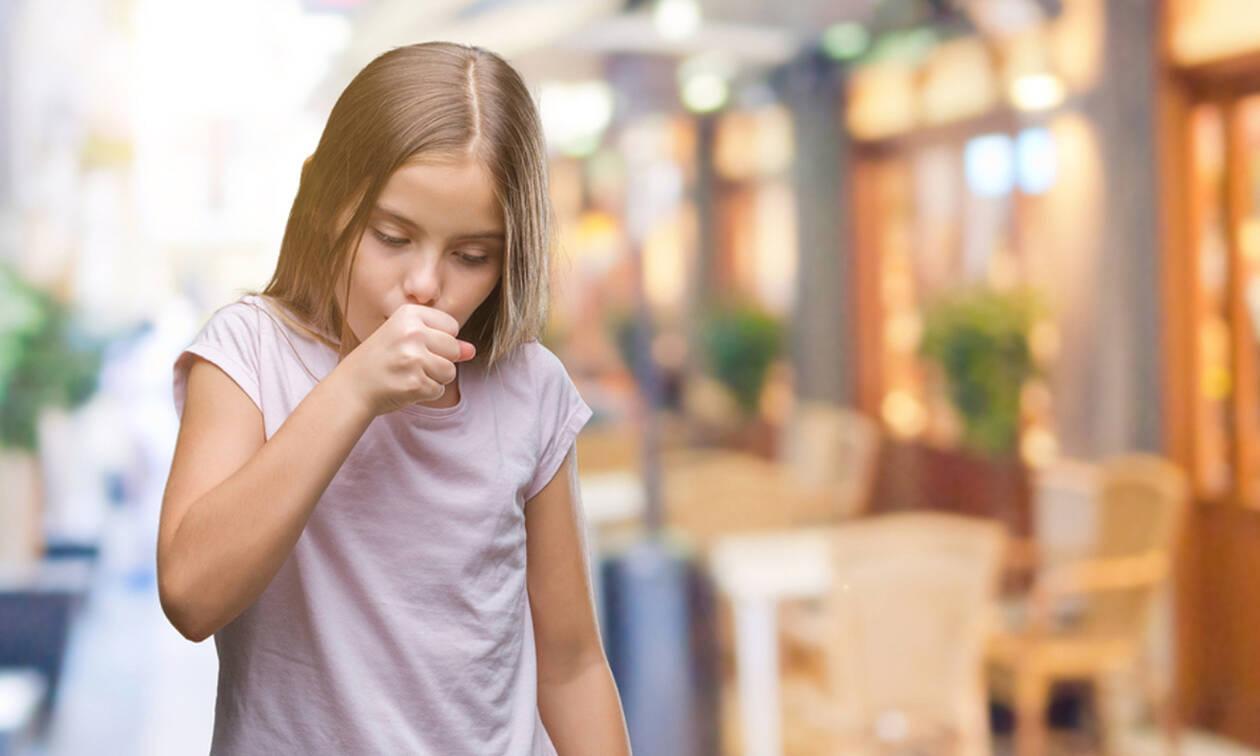 Παιδικός βήχας: Η καλύτερη θεραπεία