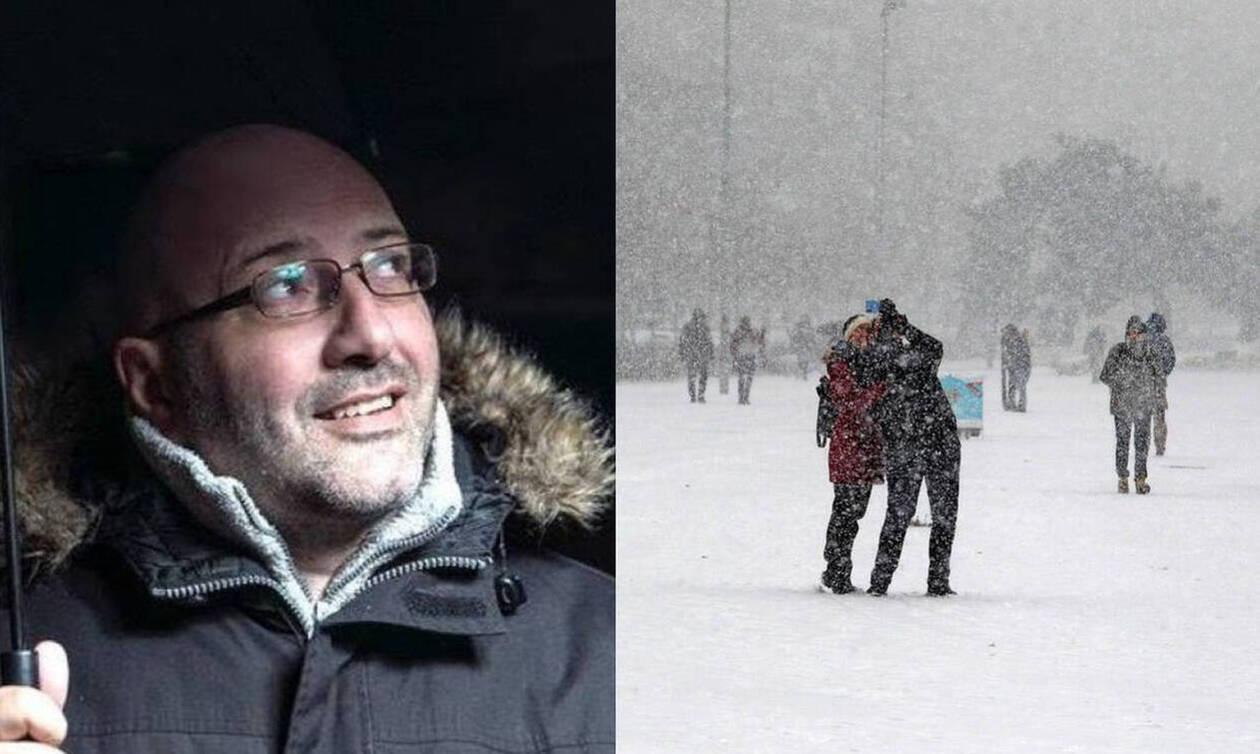 Καιρός: Έκτακτη ενημέρωση Αρναούτογλου - Οι χάρτες χιονιού και ανέμων (pics)