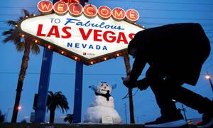 Χιόνισε στο Λας Βέγκας για πρώτη φορά μετά από 82 χρόνια (pics)