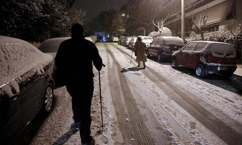 Καιρός ΤΩΡΑ: Ξεκίνησε η επέλαση του χιονιά - Πάνω από την Ελλάδα η «Ωκεανίς»