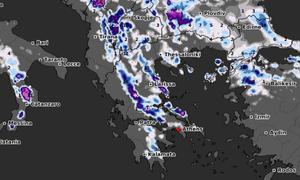 Καιρός: Καρέ - καρέ η εξέλιξη των χιονοπτώσεων τις επόμενες ώρες! Χιόνια και σε περιοχές της Αθήνας