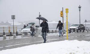 Κακοκαιρία: Σαρώνει η «Ωκεανίδα» με χιόνια και ανέμους 120 χλμ. - Πού θα χιονίσει τις επόμενες ώρες