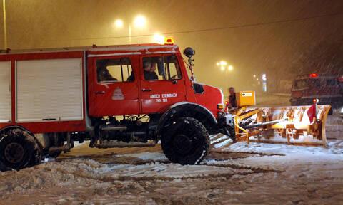 Κακοκαιρία: Δύο άτομα εγκλωβίστηκαν στο όρος Αίνος εξαιτίας της πυκνής χιονόπτωσης