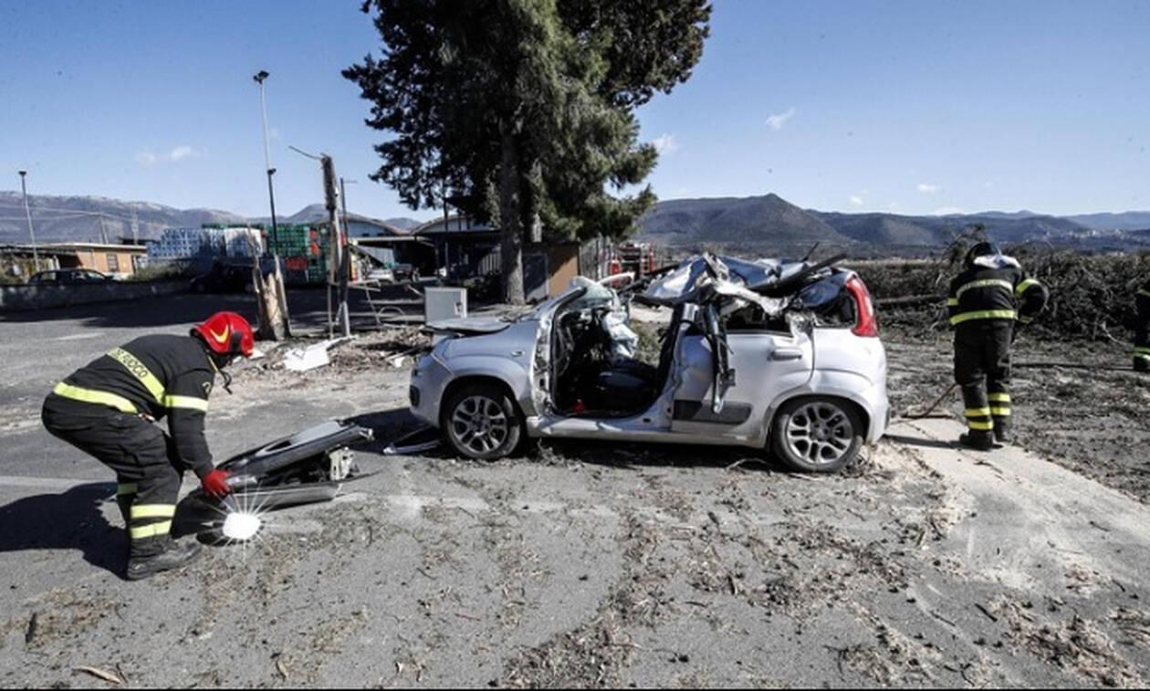 Τέσσερις νεκροί από την κακοκαιρία στην Ιταλία