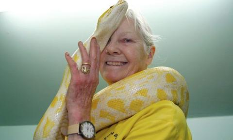 Μοιράζεται το σπίτι της με εκατοντάδες φίδια! Μόλις δείτε τι κάνει, θα πάθετε σοκ (video)