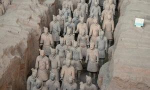 Ταξίδι στην Κίνα: Το ελληνικό μυστικό που κρύβει ο Στρατός από τερακότα (pics)