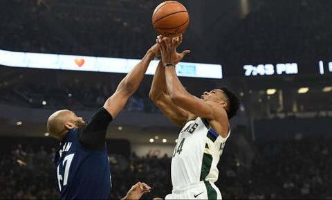 Νέο απίστευτο σόου από τον Γιάννη Αντετοκούνμπο στο NBA