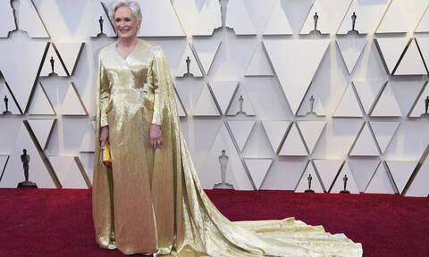Oscars 2019: Δεν θα πιστεύετε πόσο ζυγίζει το φόρεμα της Γκλεν Κλόουζ