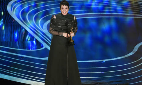 Lanthimos' ''The Favourite'' wins Oscar for Best Actress