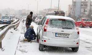 Κακοκαιρία: Προβλήματα στα οδικά δίκτυα - Σε ποιους δρόμους χρειάζονται αλυσίδες