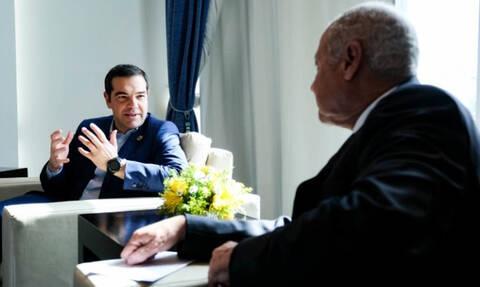 Τσίπρας: Σημαντικός ο ρόλος της Ελλάδας στο διάλογο Ε.Ε. - Αραβικού Συνδέσμου