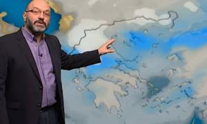 Καιρός: Πτώση της θερμοκρασίας Τετάρτη και Πέμπτη! Η ανάλυση του Σάκη Αρναούτογλου (Video)