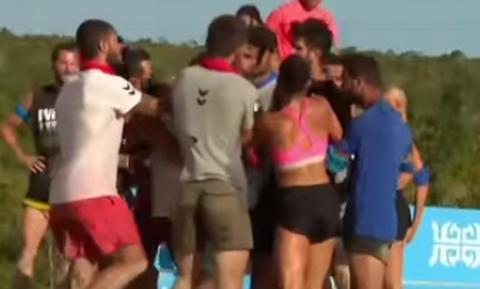 Χαμός στο Survivor: Πιάστηκαν στα χέρια Έλληνες και Τούρκοι (pics)