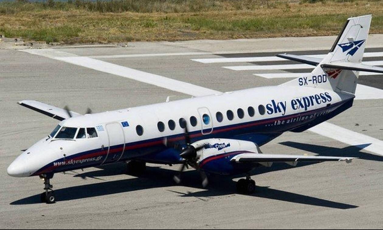 Самолет компании Sky Express вернулся в аэропорт Афин из-за неисправности