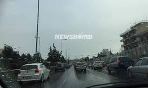Χάος στους δρόμους της Αθήνας: Μποτιλιάρισμα στο κέντρο – «Κόλαση» και πάλι ο Κηφισός (pics)