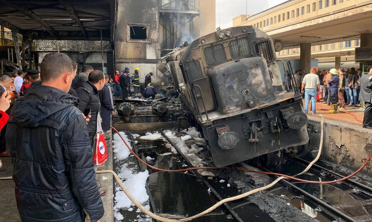 Τραγωδία στο Κάιρο: Φονική φωτιά στον κεντρικό σιδηροδρομικό σταθμό με πολλούς νεκρούς (pics&vids)