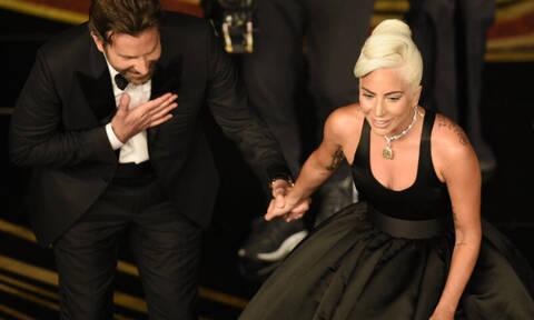 Bradley Cooper-Lady Gaga: Πέρασαν το βράδυ των Oscar μαζί και η Irina Shayk τους κοιτούσε