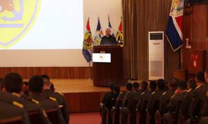 Επίσκεψη του αρχηγού ΓΕΕΘΑ στη Στρατιωτική Σχολή Ευελπίδων