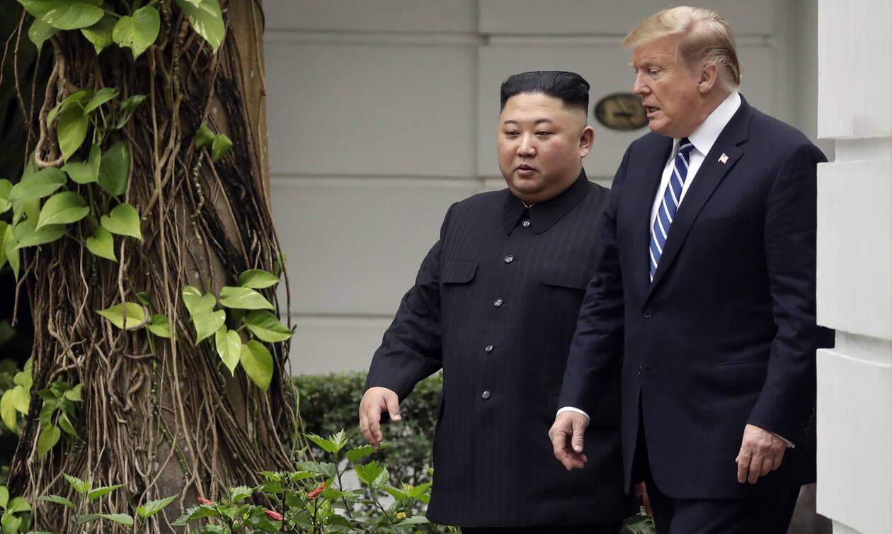 Τραμπ: «Καλός ο Κιμ, αλλά έπρεπε να φύγω» - Δεν τα βρήκαν για τα πυρηνικά ΗΠΑ - Βόρεια Κορέα