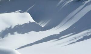 Πήρε χιόνι κι άρχισε να το επεξεργάζεται! Δείτε τι έφτιαξε... (video)