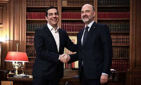 Greece is making excellent progress in reforms, Moscovici says in Athens