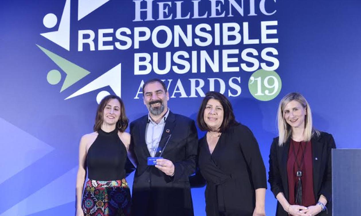 Hellenic Responsible Business Awards: H Οργάνωση Γη αναδείχθηκε «ΜΚΟ της Χρονιάς»