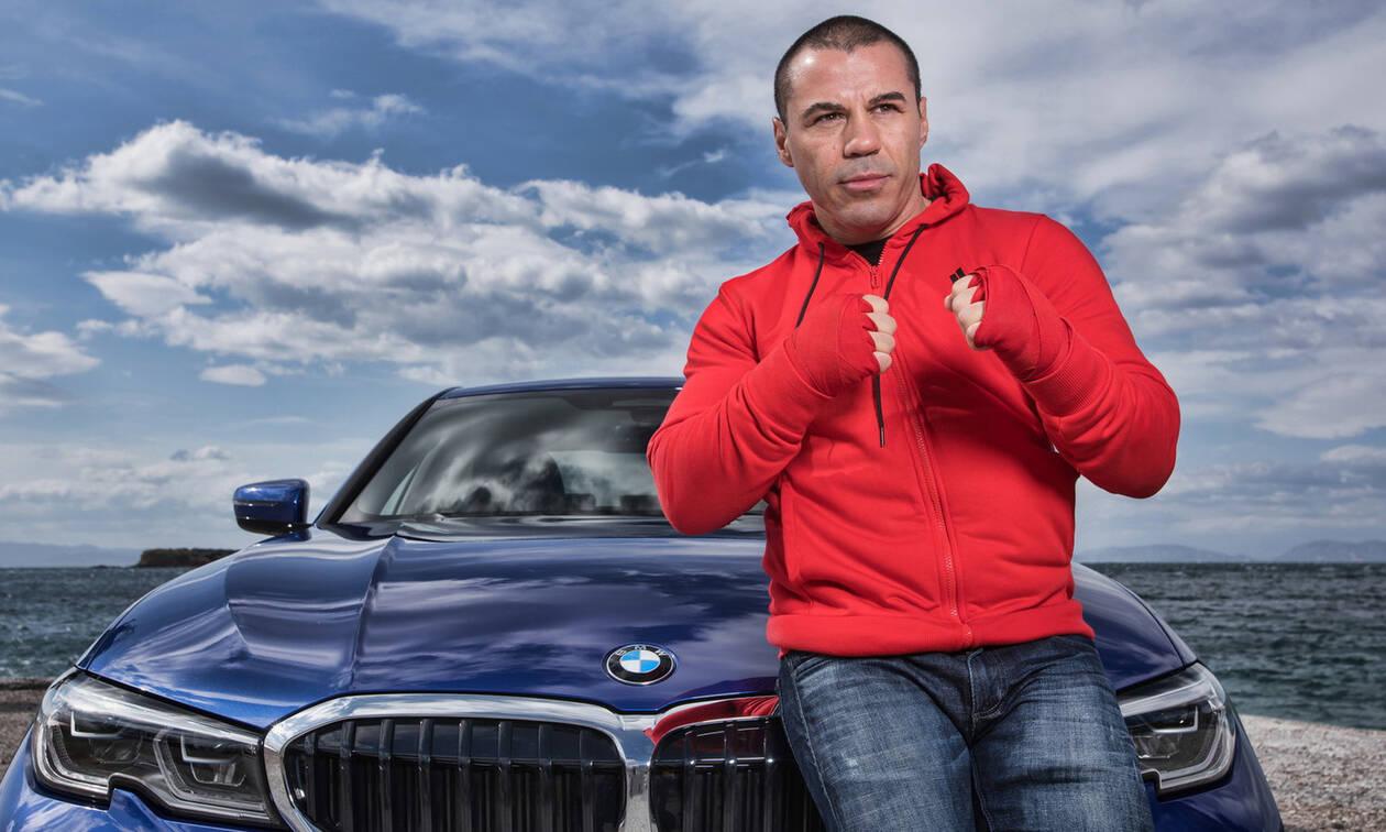 H BMW στηρίζει τη μεγάλη επιστροφή του Μιχάλη Ζαμπίδη (pics)