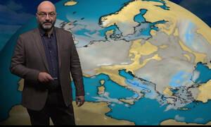 Καιρός: Πού θα χτυπήσει... 20άρια ο υδράργυρος; Η ανάλυση του Σάκη Αρναούτογλου (video)