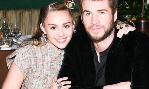 Αυτός είναι ο συγκλονιστικός λόγος που η Miley Cyrus κι ο Liam Hemsworth παντρεύτηκαν