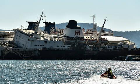 Συναγερμός με πλοίο στην Ελευσίνα - Σε εξέλιξη επιχείρηση απάντλησης υδάτων (pics)