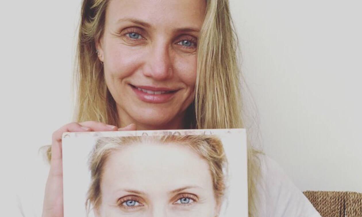 Διάσημες γυναίκες που αποφεύγουν το μακιγιάζ - Δείτε ποιες είναι (video) 0c3cbc04473