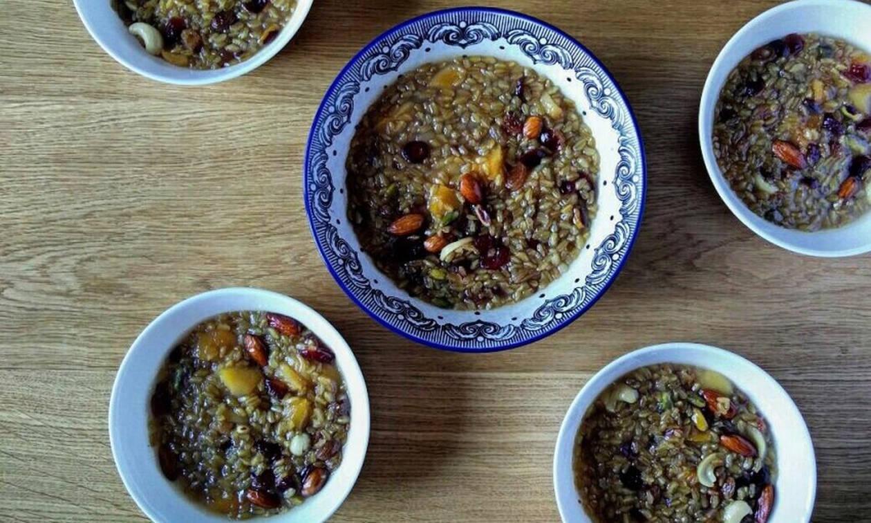 Η συνταγή της ημέρας: Βαρβάρα (Ασουρέ)
