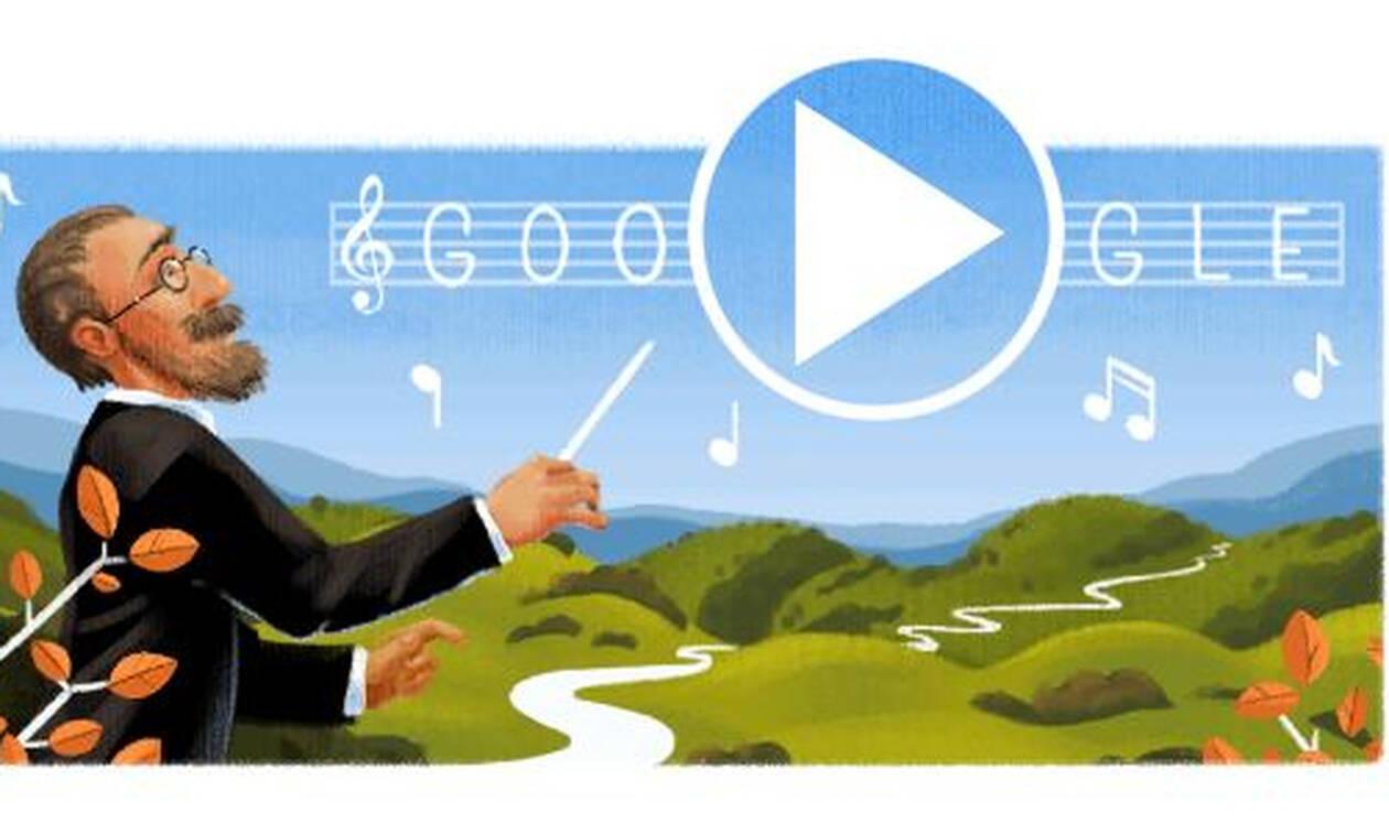 Μπέντριχ Σμέτανα: Ποιος ήταν ο μεγάλος μουσικοσυνθέτης που τιμά με doodle η Google (vid)