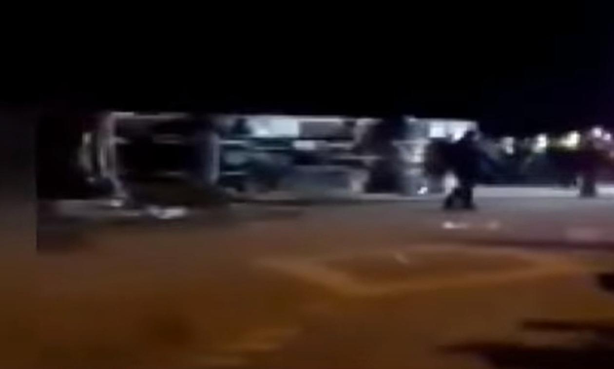 Τραγωδία στην Τουρκία: Νεκροί οπαδοί μετά από δυστύχημα με λεωφορείο (video)