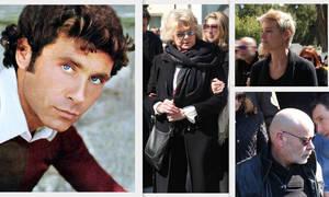 Φαίδων Γεωργίτσης: Συντετριμμένοι η σύζυγος, η κόρη και ο γιος του στο τελευταίο αντίο