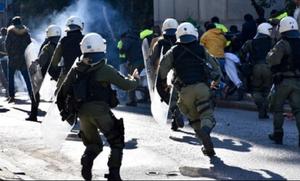 Συναγερμός μετά τα άγρια επεισόδια ενόψει του ντέρμπι της Κυριακής (photos)
