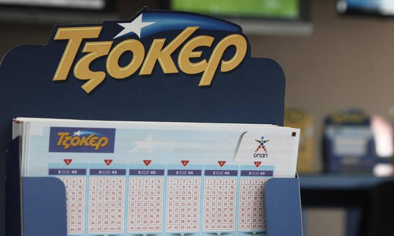 Τζόκερ: Αυτοί είναι οι τυχεροί αριθμοί που κερδίζουν τα 3.500.000 ευρώ