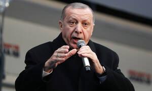 Παραλήρημα Ερντογάν: Έχουμε το Αιγαίο μας, τη Μεσόγειό μας, δεν έχουμε Κουρδιστάν