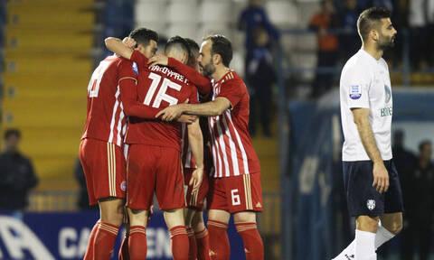 Απόλλων Σμύρνης-Ολυμπιακός 0-2:  Πέρασε ξεκούραστα από τη Ριζούπολη