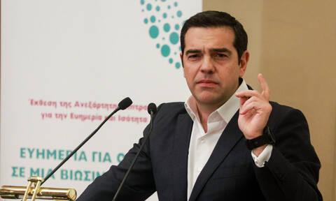 Τσίπρας σε Γεννηματά και ΚΙΝ.ΑΛ.: «Ο ΣΥΡΙΖΑ δεν επιθυμεί να σας εξαϋλώσει»