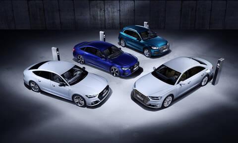 Η Audi παρουσιάζει plug-in υβριδικές εκδόσεις για τα Q5, A6, A7, A8 στη Γενεύη