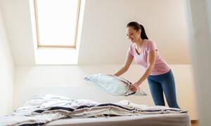 Σεντόνια, στρώμα, μαξιλάρια: Πώς και κάθε πότε πρέπει να τα καθαρίζετε