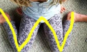 Προσοχή: Αν δείτε το παιδί σας να κάθεται έτσι, πρέπει να το σταματήσετε αμέσως! (vid)