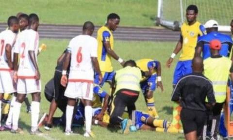 Τραγωδία σε ποδοσφαιρικό αγώνα: Παίκτης κατέρρευσε μέσα στο γήπεδο και πέθανε