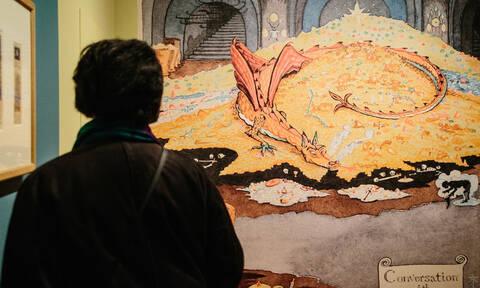 Στη Νέα Υόρκη η μεγαλύτερη έκθεση έργων του Τόλκιν (pics)