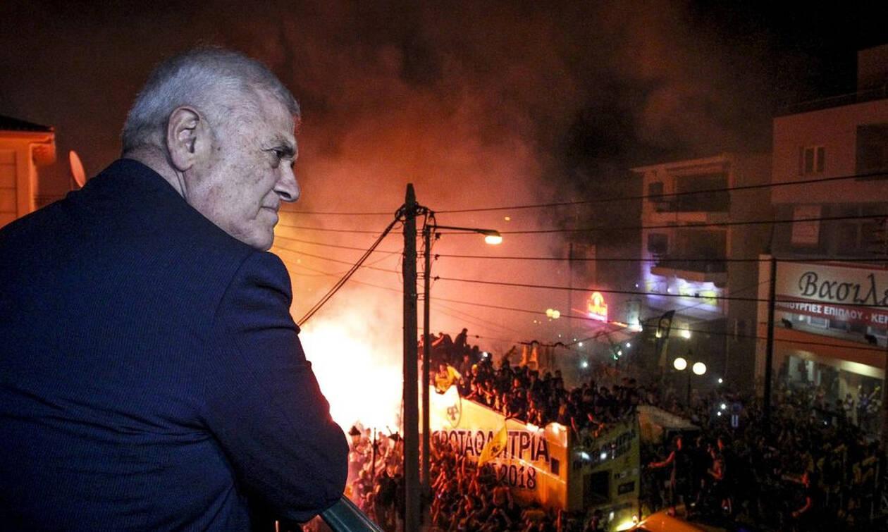 «Φόρτωσε» ο Μελισσανίδης με την επίσκεψη των οπαδών της ΑΕΚ στα Σπάτα (photos)