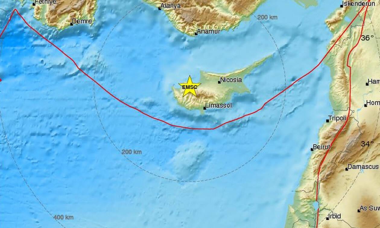 Σεισμός στην Κύπρο (pics)