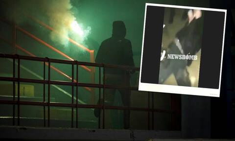 Αποκλειστικό - Ιδού το βίντεο της ντροπής: Οπαδοί του Ολυμπιακού μαχαιρώνουν 22χρονη κοπέλα