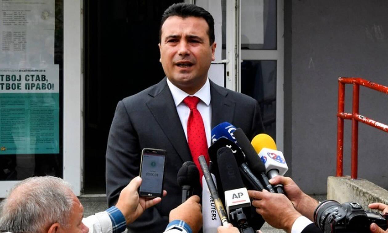 Ζάεφ: Υπάρχει βούληση για επίσκεψη Τσίπρα στα Σκόπια