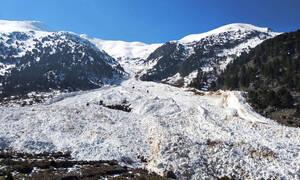 Χιονοστιβάδες «χτύπησαν» την Κρήτη (pics)